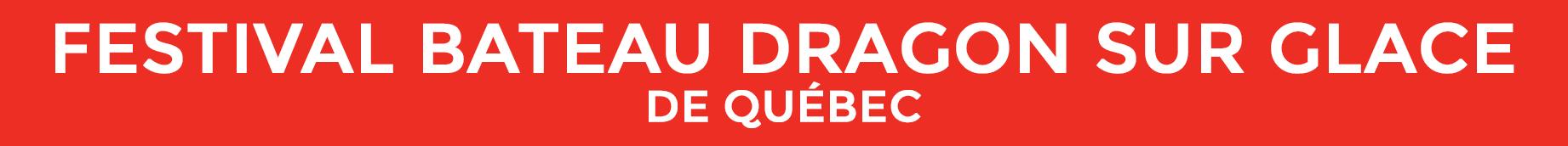 Festival bateau dragon sur glace de Québec