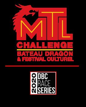 Challenge de bateau dragon de Montréal DBC race Series