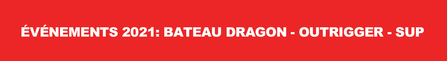 Calendrier 2021 bateau dragon-outrigger-sup